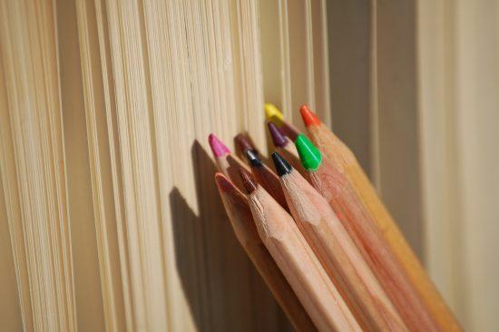 Stifte - das Leben bunt malen